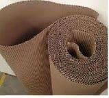 Bobina de papelão face simples