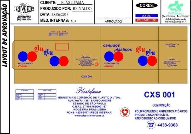 Caixa de papelão ondulado personalizada