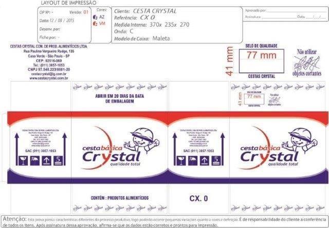 Caixas de papelão personalizadas sp