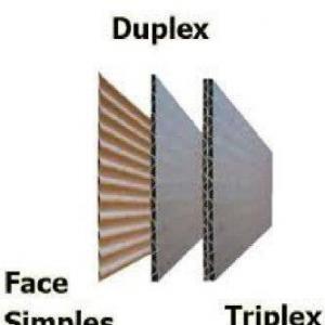 Chapas de papelão ondulado sp